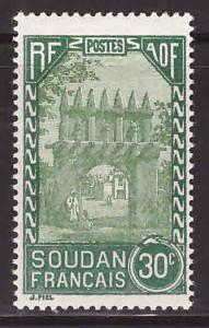 French Sudan Scott 70 MH*
