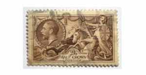 GREAT BRITAIN 1934 SCOTT # 222. USED. SCOTT PRICE $45.00