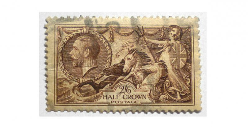 GREAT BRITAIN 1934 SCOTT # 222. USED. SCOTT PRICE $45.00