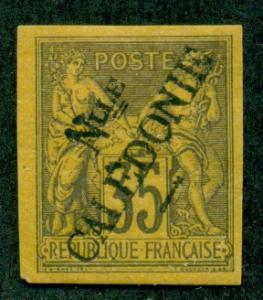 New Caledonia #17  Mint  Scott $75.00