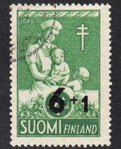 Finland Scott B80 F+ used.