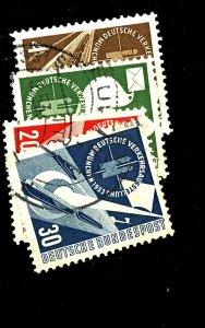 Germany #698-701 Used FVF Cat$34.50