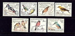 Czechoslovakia 942-48 MH 1959 Birds   #2