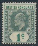 British Honduras SG 80 SC # 58 MH  Crown CA perf 14    see scan and details