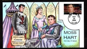 US Collins FDC SC#3882 Moss Hart, Camelot