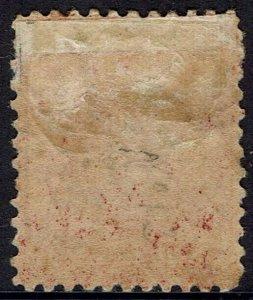 ANTIGUA 1884 QV 1D WMK CROWN CA PERF 12