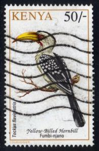 Kenya #608 Yellow-billed Hornbill; used (3.25)