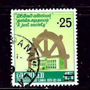 Sri Lanka 542 Used 1979 issue