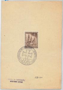 58099 - GERMANY  Berlin - POSTAL HISTORY: Michel # 106  on  FDC paper -  1953