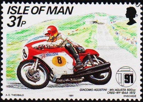 Isle of Man. 1991 31p S.G.481 Fine Used
