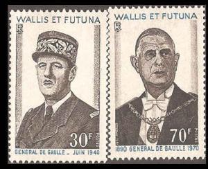 Wallis & Futuna Islands 177-178 Mint VF H