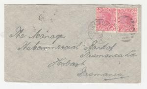 VICTORIA, PYRAMID HILL, 913 duplex, 1907 Tatt's cover.