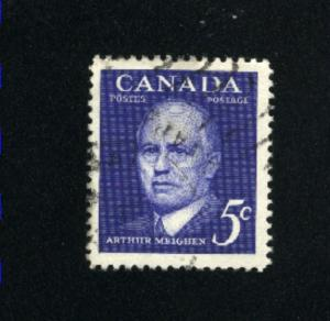 Canada  393  -1  used VF PD 1961