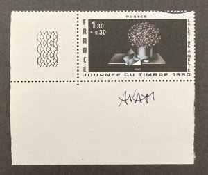 France 1980 #B529, Letter to Melie, Artist Signed!, Used/CTO.