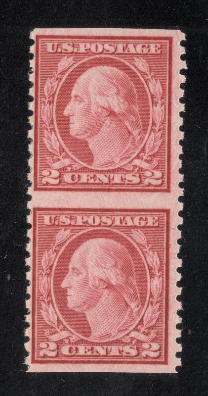United States #540a - Imperforate Pair - O.G. - PSA Cert.