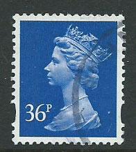 Great Britain - QE II Machin SG Y1702