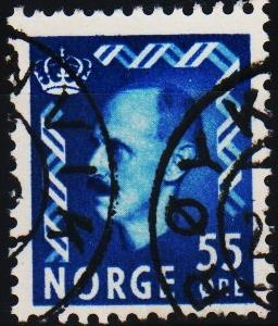 Norway. 1950 55ore S.G.426  Fine Used