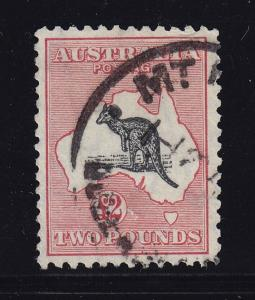 Australia Scott # 129 VF used neat cancel cv $ 800 ! see pic !