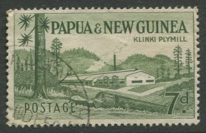 STAMP STATION PERTH Papua New Guinea #142 General Issue  Used 1958 CV$0.25