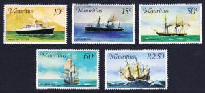 Mauritius Mail Carriers in Mauritius 5v SG#501-505 MI#411-415 SC#419-423