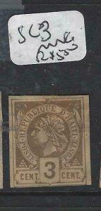 HAITI  (P1506B)  SC 3   MNG