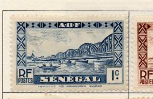 Senegal 1935-40 Early Issue Fine Mint Hinged 1c. 193270