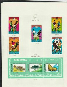 south korea stamps page ref 16937