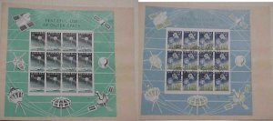 NIGERIA   SPACE FDC 2 DIFF. SHEETS