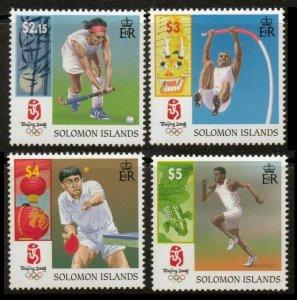 2008 Solomon Islands 1374-1377 2008 Olympic Games in Beijing
