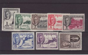 1952 Virgin Is Set to 24c Mounted Mint SG136/143