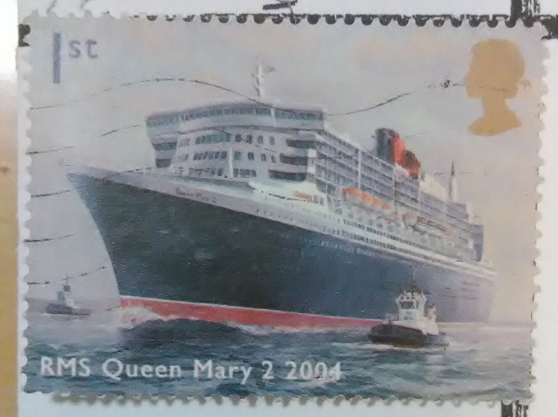 Great Britain The Queen Mary Cruise Ship Scott #2202