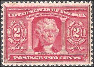 324 Mint,OG,HR... SCV $22.50