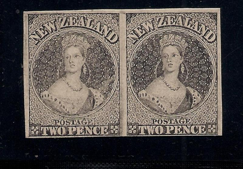 New Zealand - 2 Pence - Proofs on Card