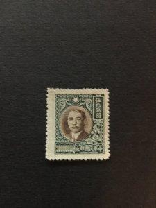 China stamp, Genuine, MLH, SUN YAT-SEN, 500000 face value,  RARE, List 1117
