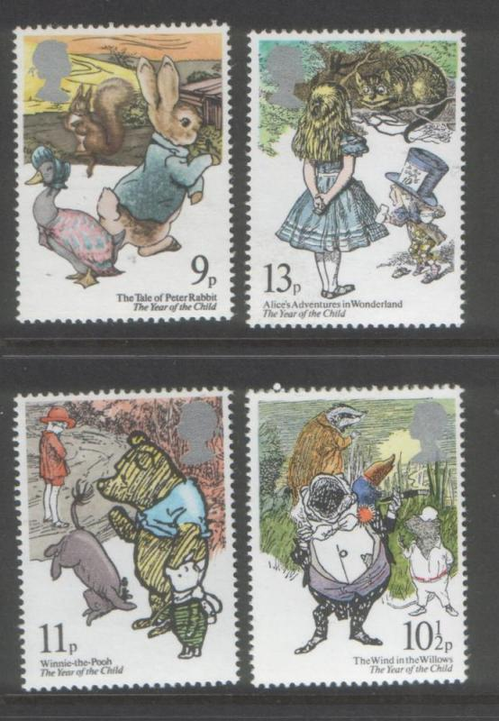 Great Britain 1979 Year of the Child (4) Scott #867-870