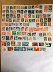 Switzerland 100+ stamps - Lot C