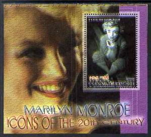 Turkmenistan 2001 Icons of the 20th Century - Marilyn Mon...