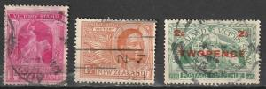 #166-67,174 New Zealand Used Victory Issues