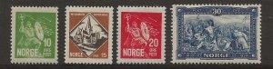 Norway 150-153 Set. MH