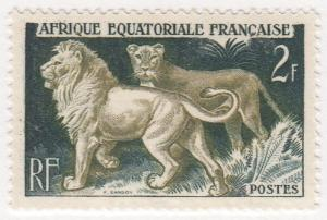 French Equatorial Africa, Scott #196 (2), MH