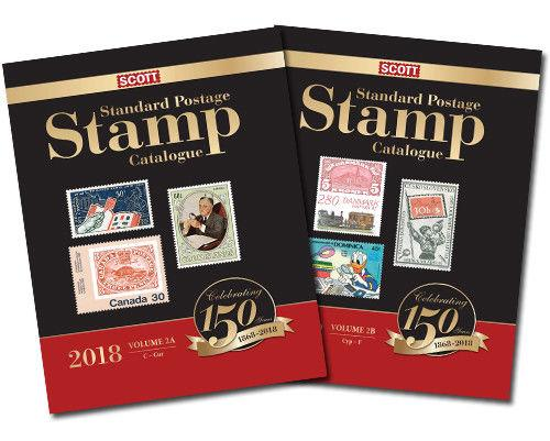 2018 Scott Standard Postage Stamp Catalogue, Volume 2 A/B (Countries C-F)