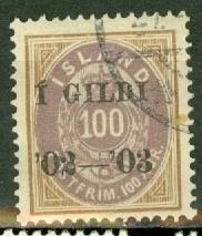 Iceland 68 used CV $110