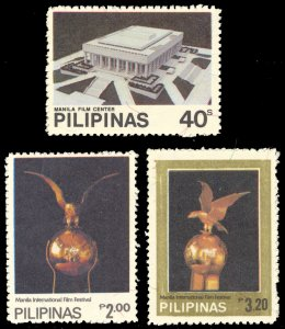 Philippines 1982 Scott #1569-1571 Mint Never Hinged