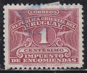 Uruguay Q55 Parcel Post Stamp 1943