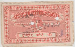 Indore /  State India Fiscal  8A  Court Fee  Revenue  K&M T 12     99390