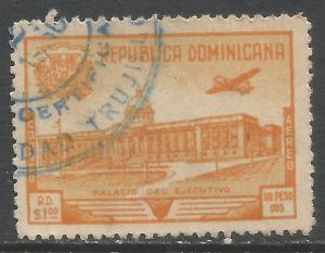 DOMINICAN REPUBLIC C69 VFU Z4321-1