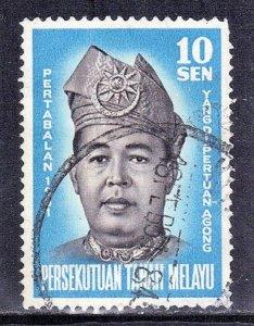 MALAYA SC# 98 **USED** 1961  10s  SEE SCAN