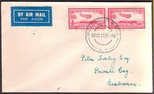 NEW ZEALAND 1937 First flight cover Wellington to Gisborne.................34874