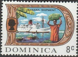 Dominica, #275  MH From 1969