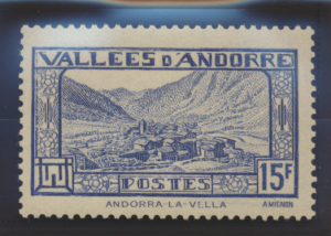 Andorra (French Administration) Stamp Scott #62B, Mint Lightly Hinged - Free ...